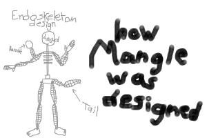 FNAF Mangle's endoskeleton design (Margrit)