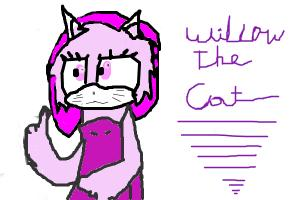 FNAF-OC:Willow The Cat