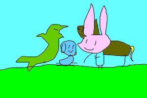 friend picnic