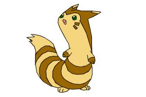 Furret from Pokemon