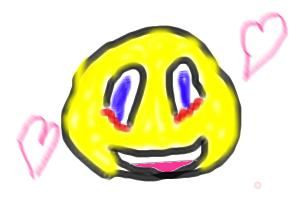 girl smilely