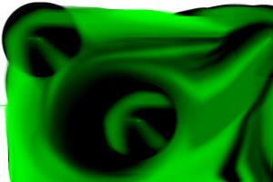 green and black thingy