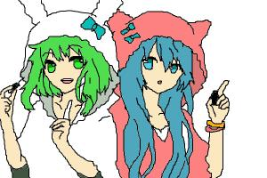gumi and miku