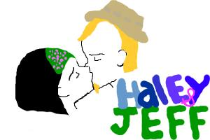 Haley and Jeff from American Dad