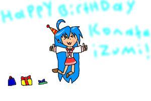 happy birthday Konata Izumi!