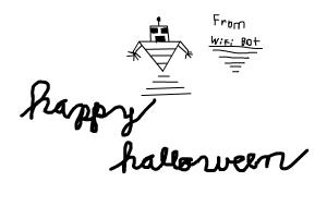 happy halloween from your friend wifi bot