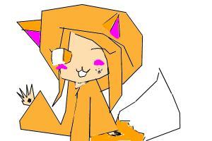 Haruka as fox