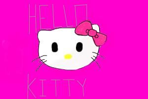 Hello Kitty Face Drawing