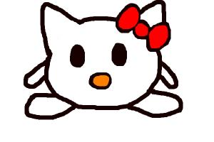 Hello Kitty Kirby