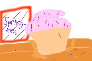 how draw a cute cupcake