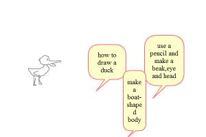 How to:draw a duck