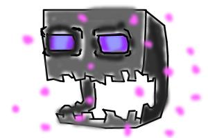 How to draw a enderman