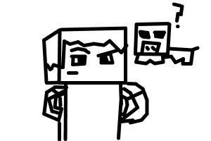 How to draw a minecraft character with a pig