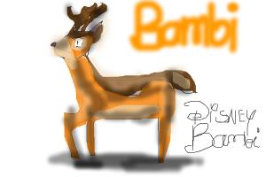 How To Draw Adult BambiFrom Bambi