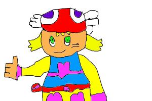 How to draw Amitie from the Puyo Puyo series