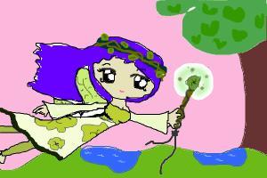 How to draw anime fairy girl
