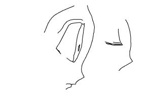 how to draw anime side view eyes drawing by calvin rockstar