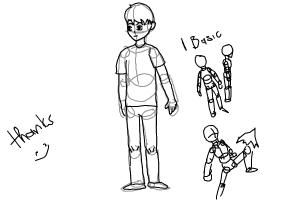 How to draw body for new
