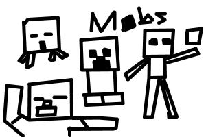 How to draw chibi mobs