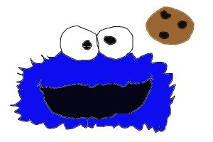 how to draw: Cookie Monster