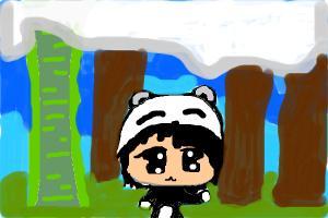 how to draw cute chibi panda