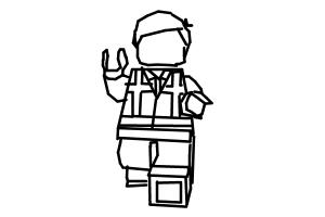 How to draw emmet with no face