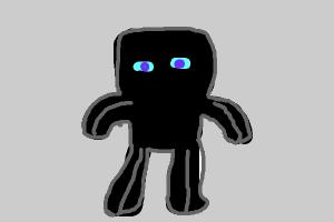 How to draw EnderChibiMan