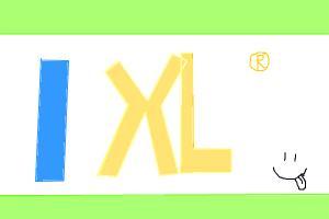 how to draw IXL logo