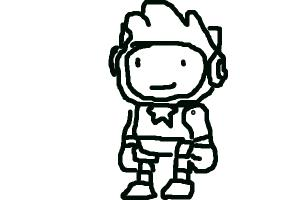 How to Draw Maxwell (Scribblenauts)