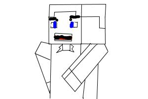 how to draw miecraft me