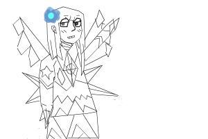 How to draw - my Elemental Oc - Rebornica