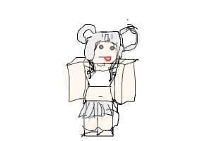 how to draw my roblox chacter