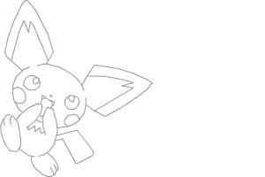 How to draw Pichu!