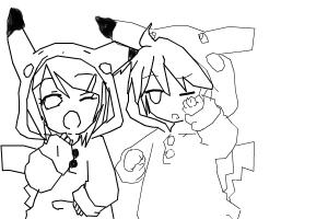 How to draw : Renchu and Lenchu