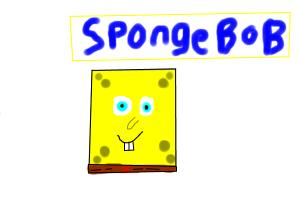 How To Draw Spongebob with No Body Parts