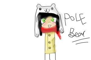 How to draw Super cool senpai Polebear! (tumblr)