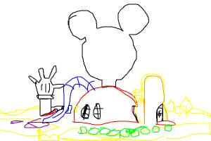 How to draw the new Mickey Mouse Clubhouse