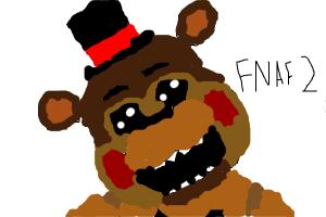 How To Draw Toy Freddy from FNAF 2