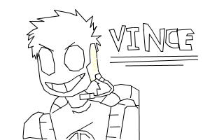 How to draw Vince from Night Terror (Rebornica)