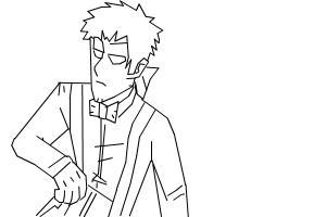 how too draw vendetta - (Rebornica)