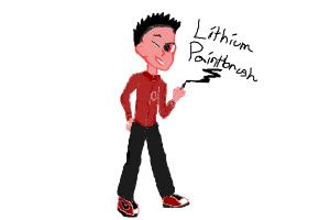 Human Lithium Paintbrush