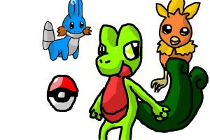 I choose Treecko