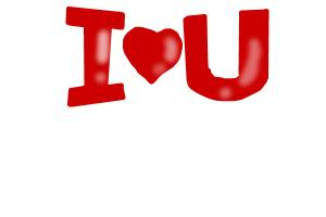 I love you 3D