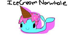 Icecream Narwhale