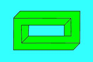 how to draw a 3d rectangle