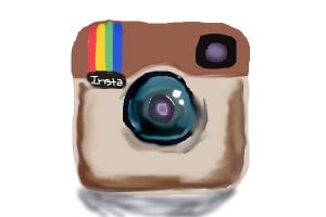instagram logo drawing by penguingalispinga drawingnow