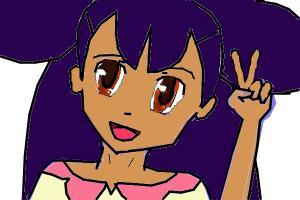 Iris from Pokemon