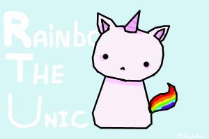 IT'S RAINBOW THE UNICORN!!!