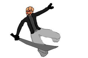 jason voorhees sword jump