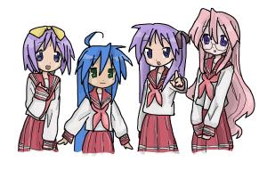 Lucky Star main characters